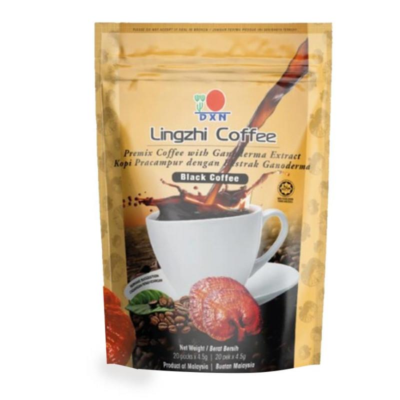 Linghzi Black Coffe - kawa z Ganodermą 20x4,5g / DXN