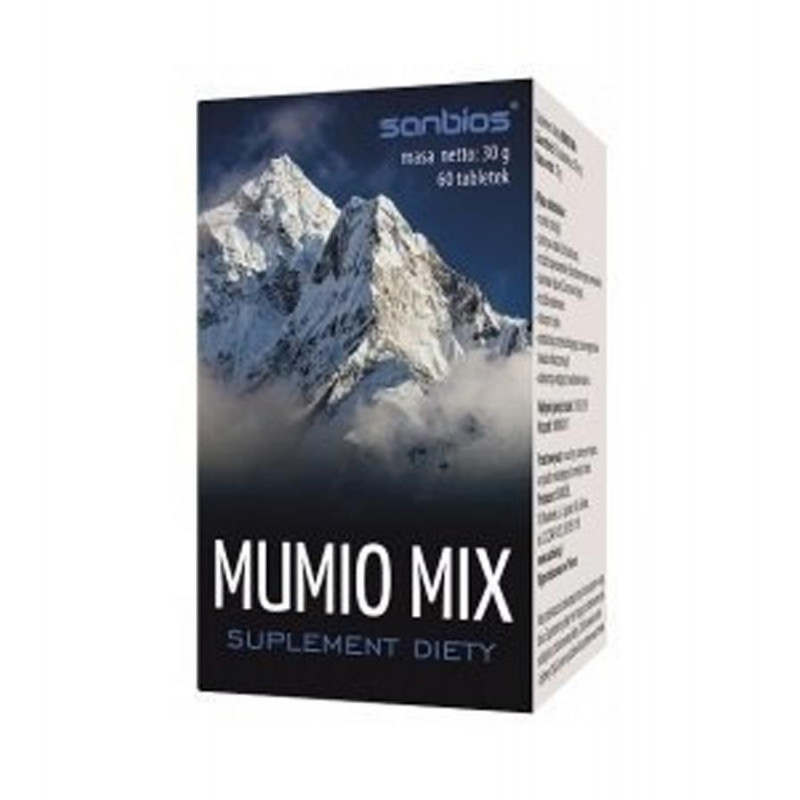 Mumio mix 50 mg, 60 tabletek / Sanbios