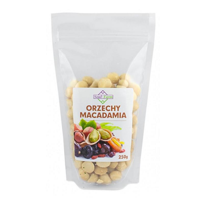 Orzechy Macadamia 250g / Soul-Farm