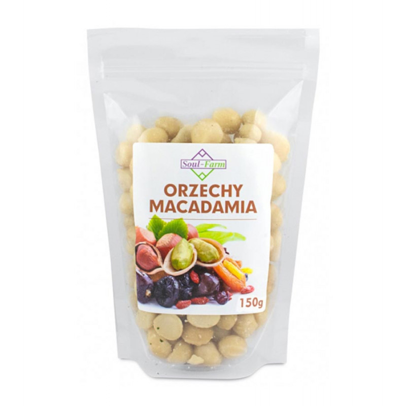 Orzechy Macadamia 150g / Soul-Farm