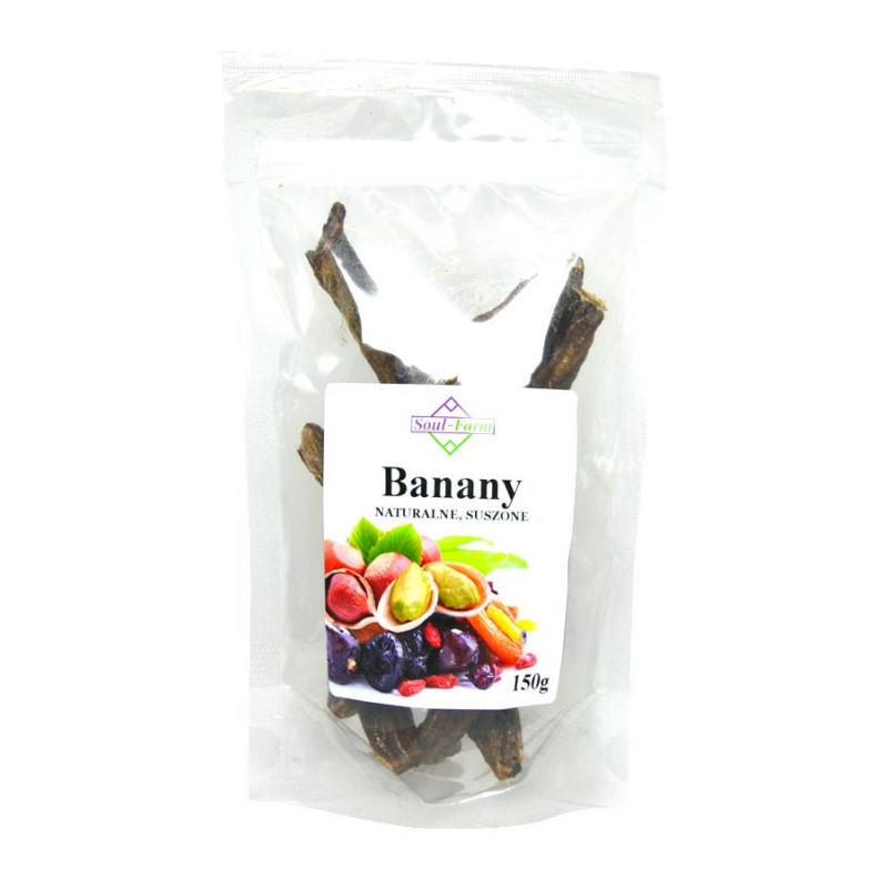 Banany suszone naturalnie 150g / Soul-Farm