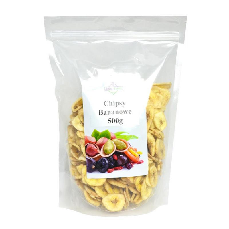 Chipsy Bananowe 500g / Soul-Farm