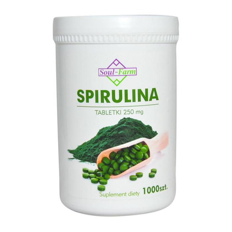 Spirulina (Algi Morskie) 1000 tabletek / Soul-Farm