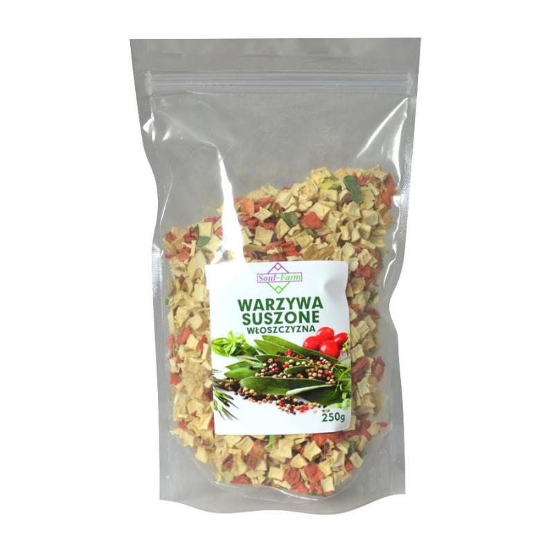 Warzywa Suszone, Włoszczyzna 250 g / Soul-Farm