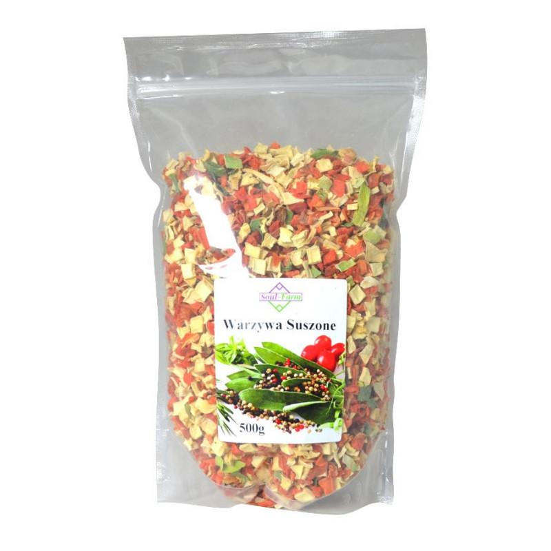 Warzywa Suszone, Włoszczyzna 500 g / Soul-Farm