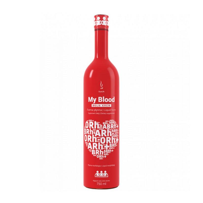 My Blood, Moja krew forma płynna 750 ml / DuoLife
