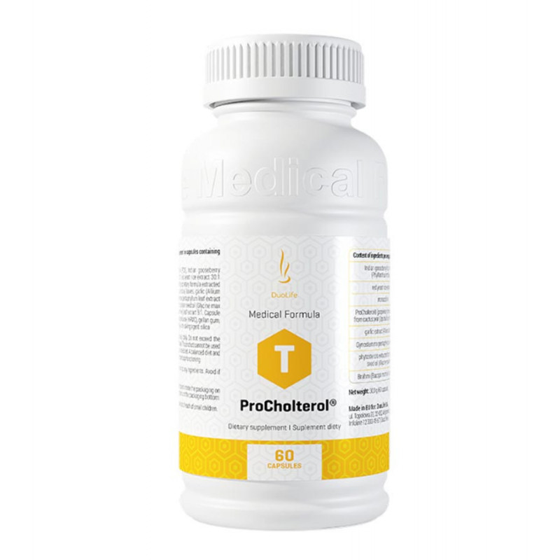 ProCholterol 60 kapsułek / DuoLife