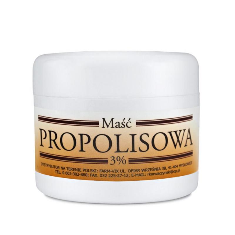 Maść Propolisowa 3% 50ml / Farm-Vix