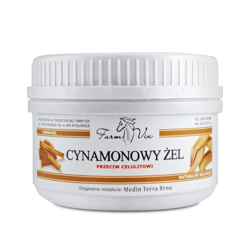 Cynamonowy Żel przeciw cellulitowi 350ml / Farm-Vix