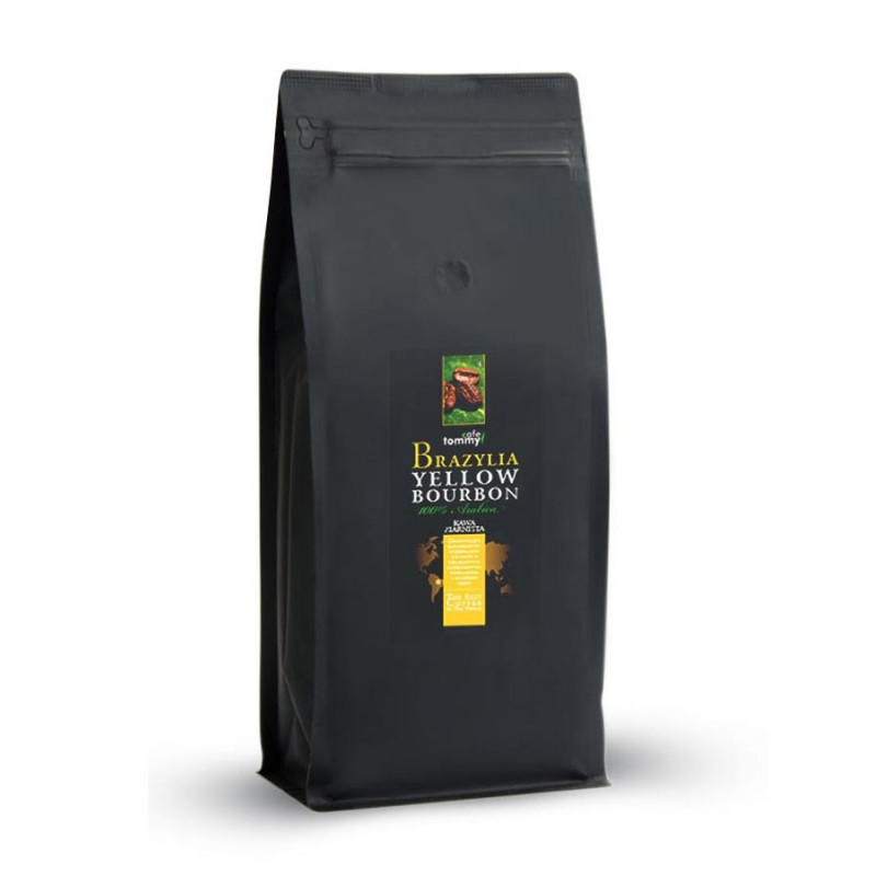 Kawa ziarnista Brazylia Yellow Bourbon 1kg / Tommy Cafe