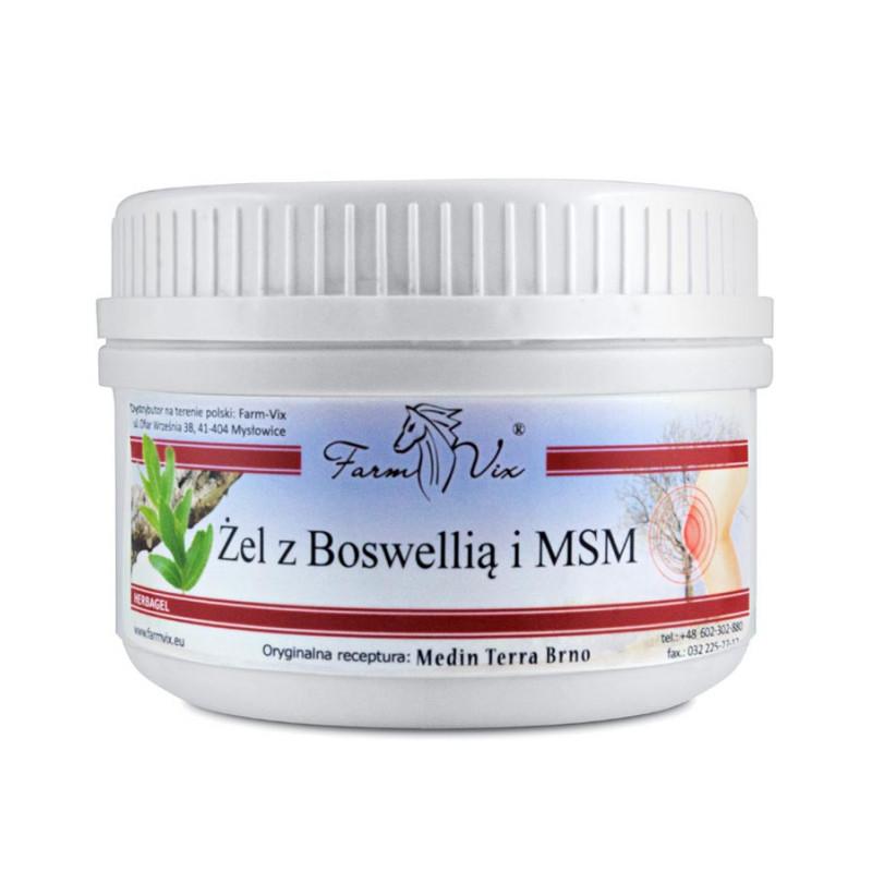 Żel z Boswellią i MSM 350ml / Farm-Vix