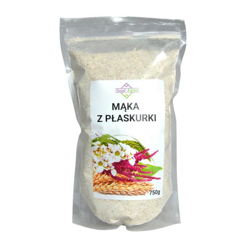 Mąka z płaskurki, 750g / Soul-Farm