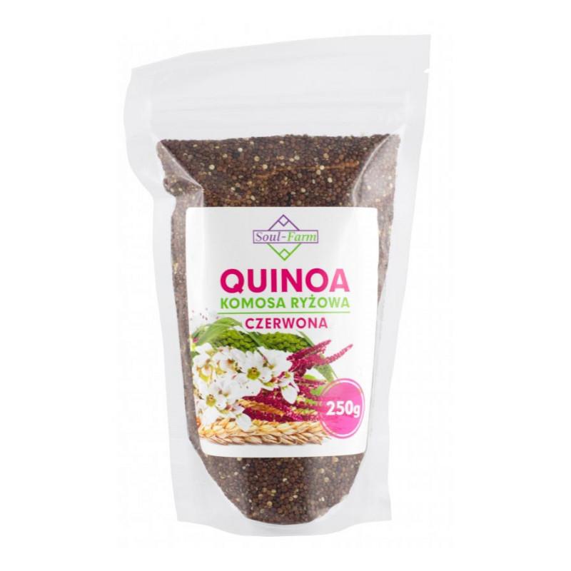 Quinoa Komosa Ryżowa Czerwona 250g / Soul-Farm
