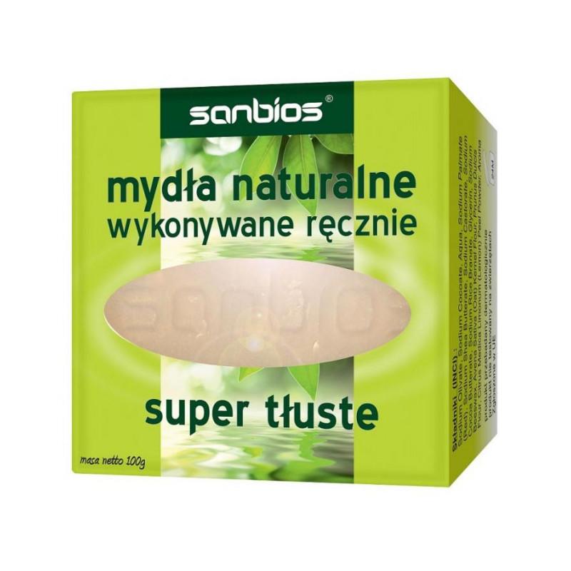 Mydło naturalne super tłuste / Sanbios