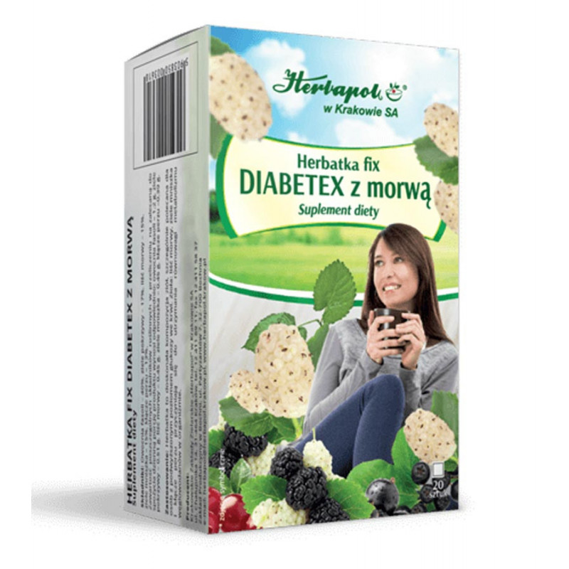 Herbatka DIABETEX z Morwą / Herbapol