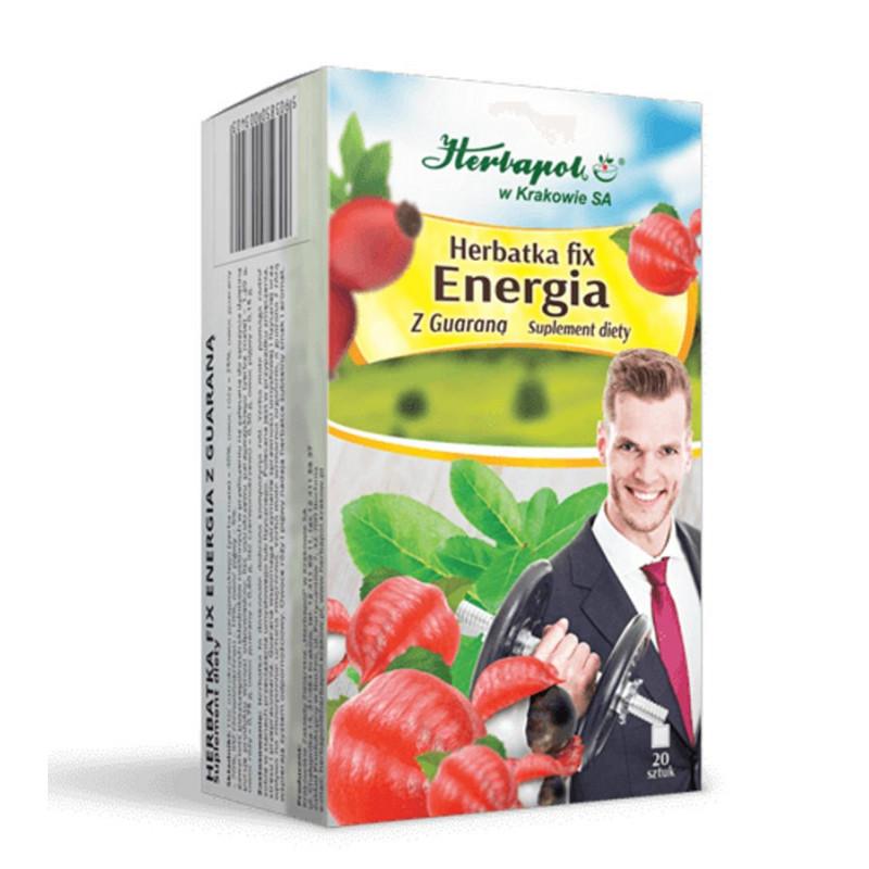 Herbatka ENERGIA z Guaraną / Herbapol