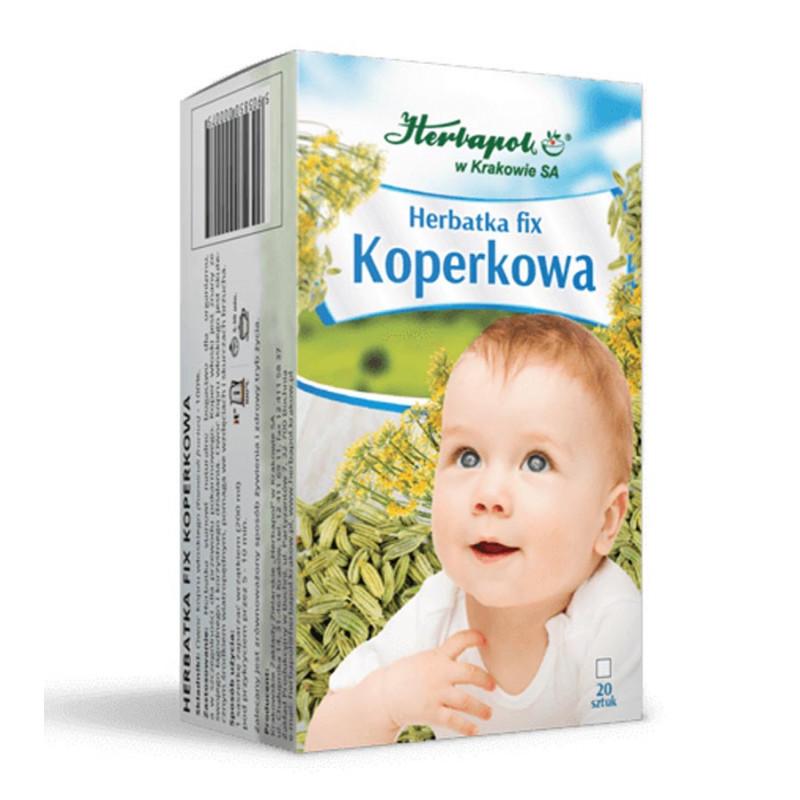 Herbatka koperkowa 20 saszetek / Herbapol