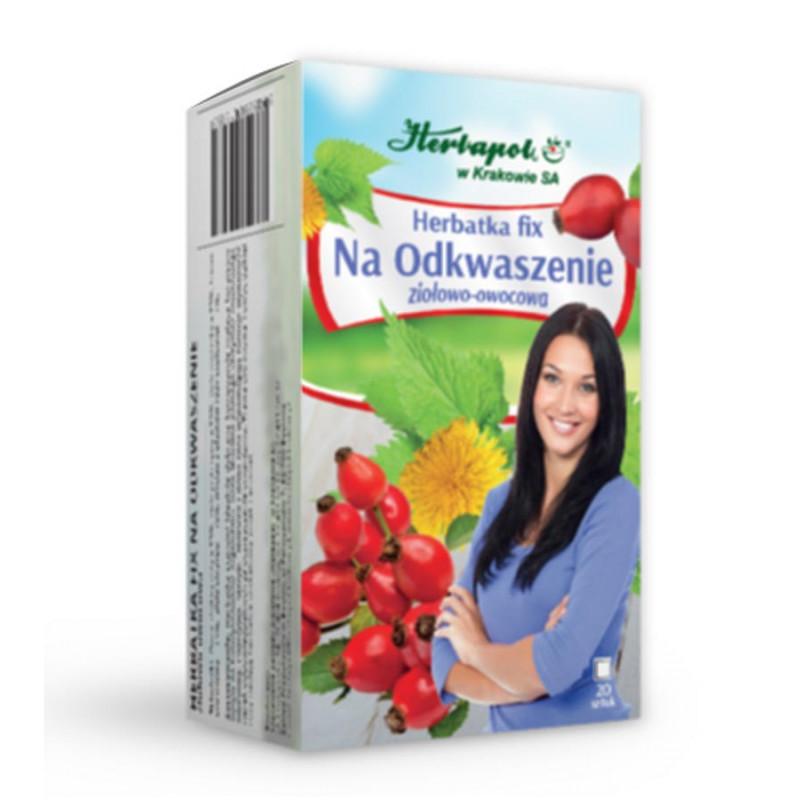 Na Odkwaszenie Herbatka Fix 20 saszetek / Herbapol