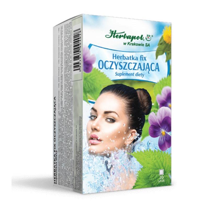 Herbatka OCZYSZCZAJĄCA / Herbapol