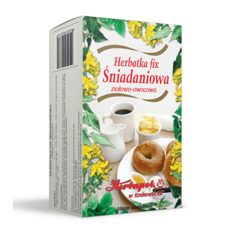 Śniadaniowa Herbatka 20 saszetek / Herbapol