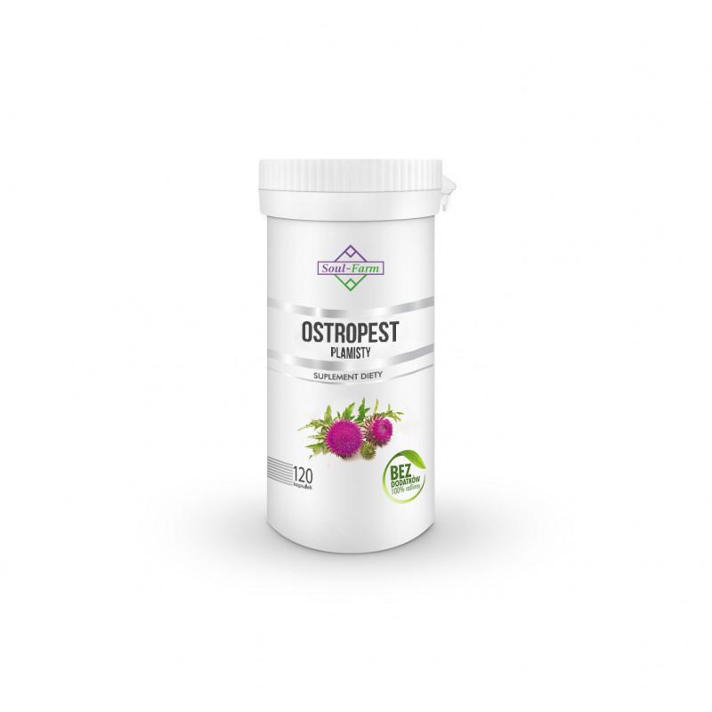 Ostropest plamisty ekstrakt, 120 kapsułek PREMIUM / Soul-Farm