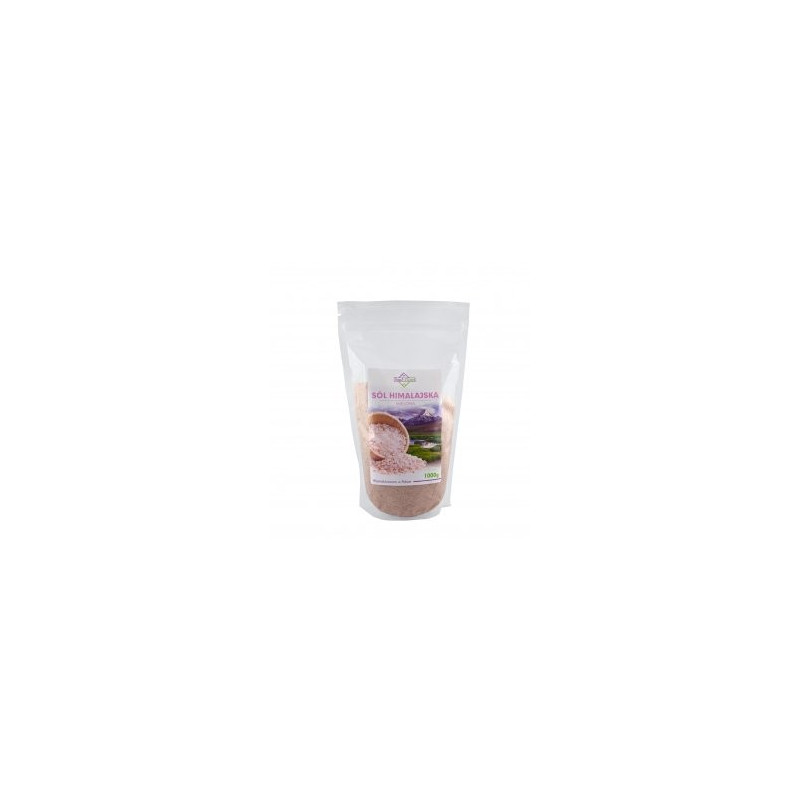 Sól Himalajska Różowa (drobna) 1000g / Soul-Farm