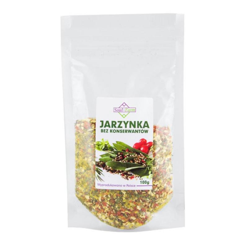 Jarzynka, mieszanka warzywno-ziołowa, 100g / Soul-Farm