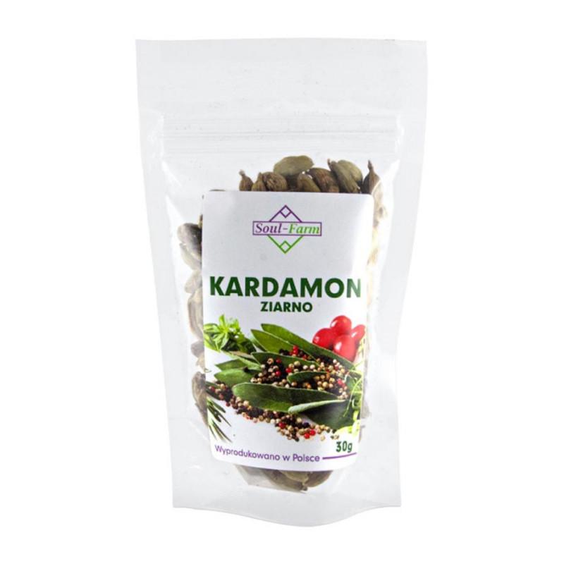 Kardamon ziarno 30g / Soul-Farm
