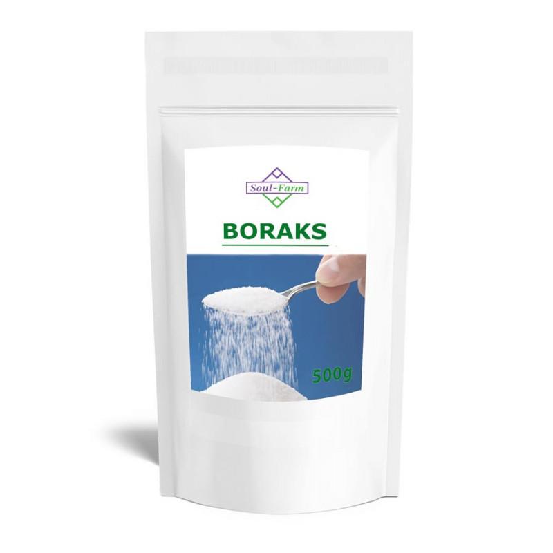 Boraks, Borax, Czteroboran sodu dziesięciowodny 500g / Soul - Farm
