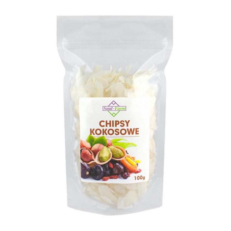 Chipsy Kokosowe 100g / Soul-Farm