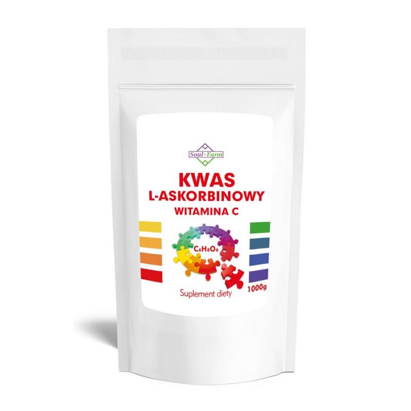 Kwas L- Askorbinowy 1000g Witamina C / Soul-Farm