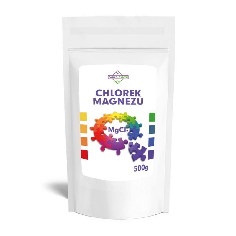 Chlorek magnezu (sześciowodny) CDA 500g / Soul-Farm