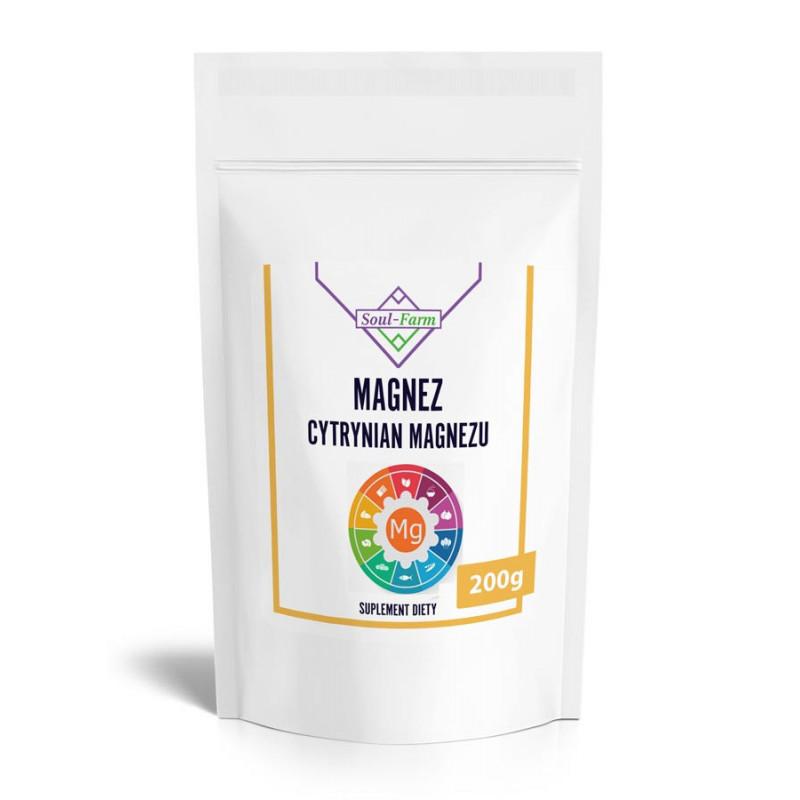 Cytrynian magnezu 200g / Soul-Farm
