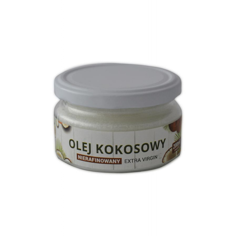 Olej Kokosowy Extra Virgin 200ml / Soul-Farm