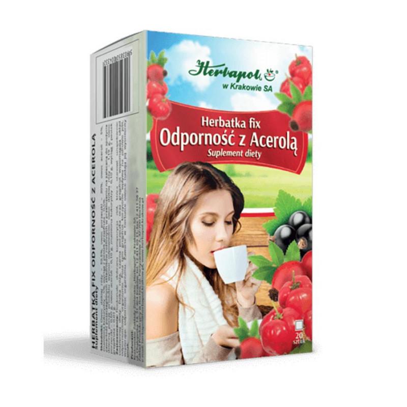 Herbatka ODPORNOŚĆ z Acerolą / Herbapol