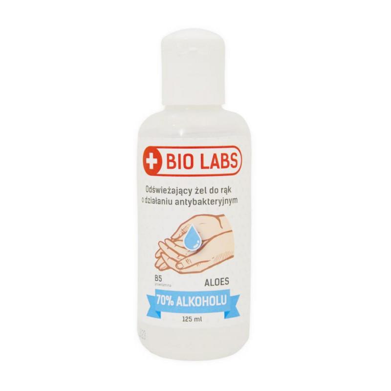 Antybakteryjny żel do dezynfekcji rąk z wit. B5 i aloesem, 125ml BIOLABS