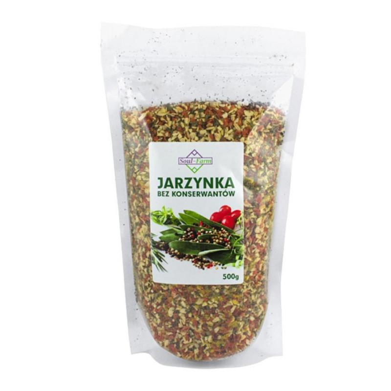 Jarzynka, mieszanka warzywno-ziołowa 500g / Soul-Farm