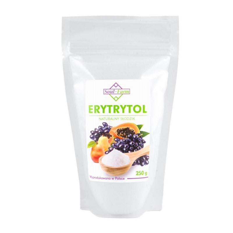 ERYTROL, ERYTRYTOL słodzik 250g / Soul-Farm