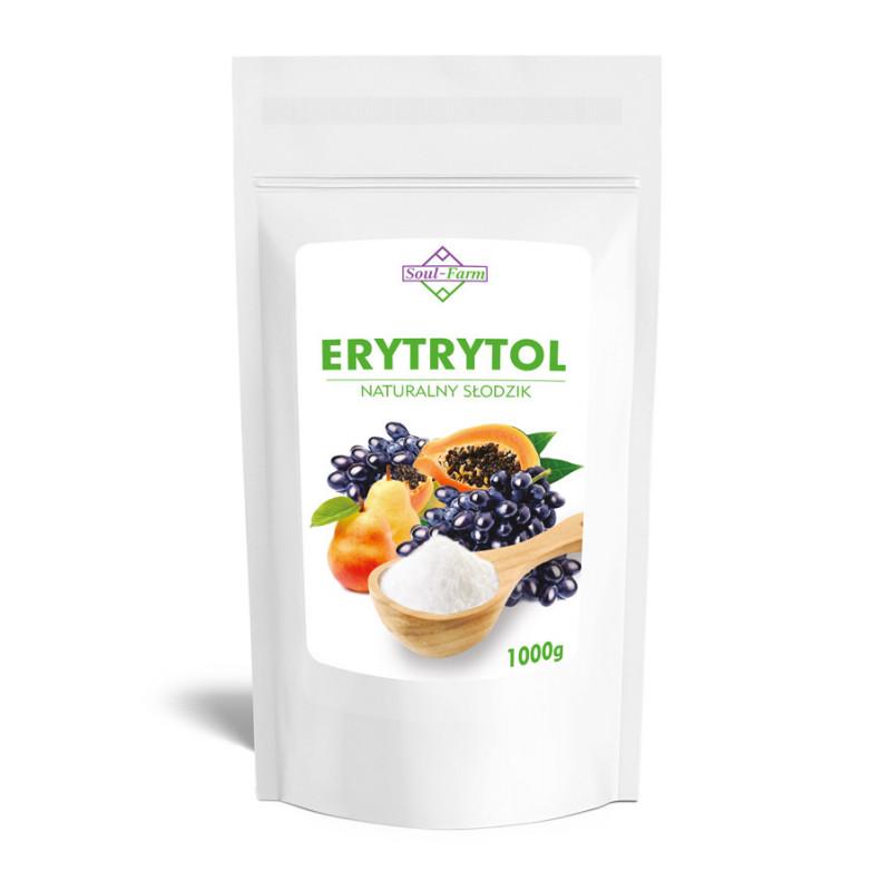 ERYTRYTOL, ERYTROL słodzik 1kg / Soul-Farm